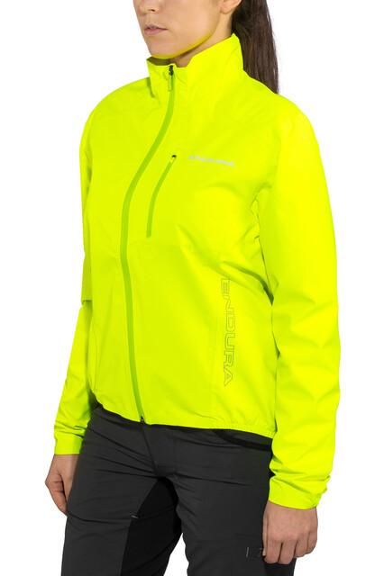 Endura Hummvee Lite Jakke Damer, neon yellow